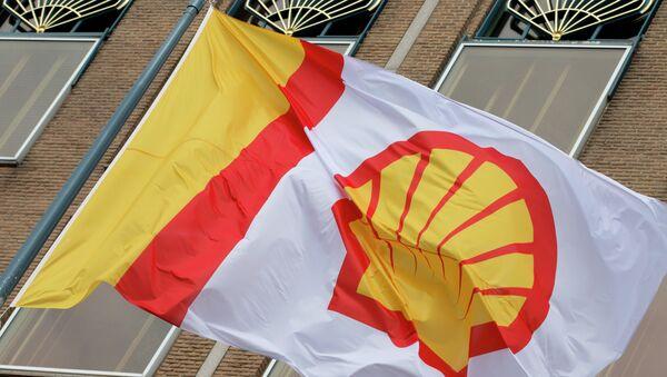 Logo del grupo energético anglo-holandés Royal Dutch Shell - Sputnik Mundo