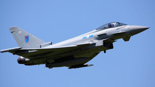 Typhoon jet - Sputnik Mundo
