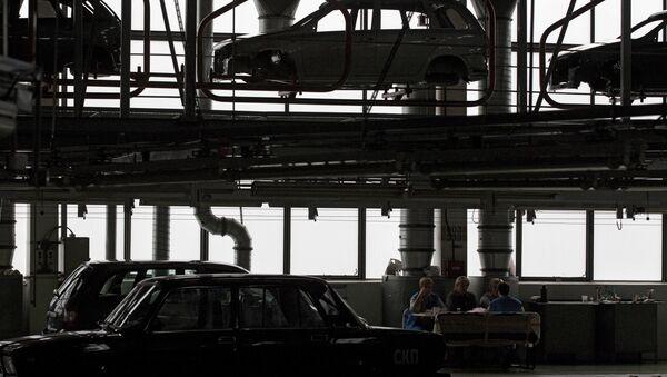 Fabricación de automóviles en Rusia - Sputnik Mundo