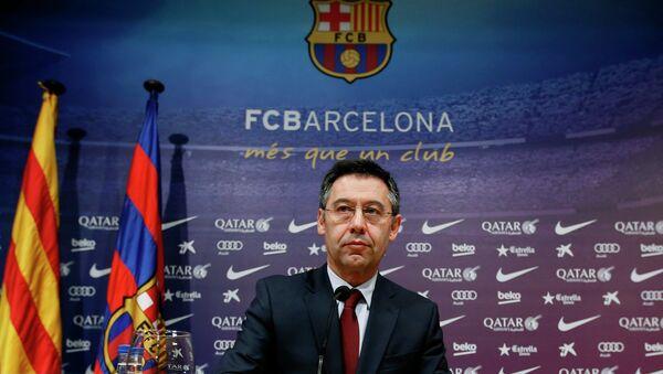 Josep Maria Bartomeu, presidente del club Barcelona - Sputnik Mundo