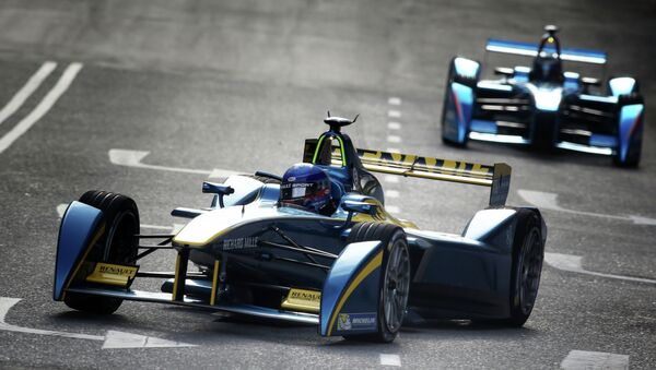 PROST Nicolas, edams Renault, action during the 2014 & 2015 Formula E championship, at Putrajaya from November 21 to 22th 2014, Malaysia - Sputnik Mundo