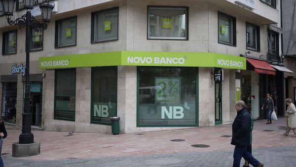 Novo Banco - Sputnik Mundo
