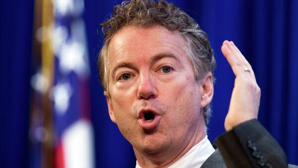 Rand Paul, senador republicano de EEUU - Sputnik Mundo