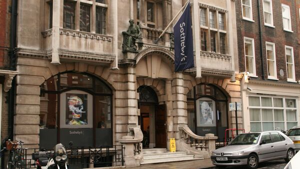 Casa Sotheby's en Londres (archivo) - Sputnik Mundo