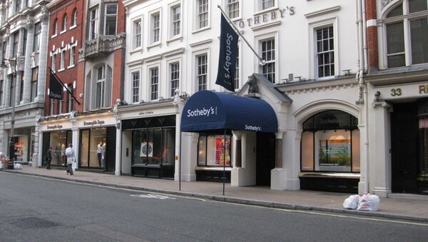 La sede de Sotheby´s de Londres - Sputnik Mundo