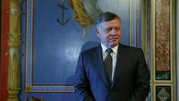 Abdalá II, rey de Jordania - Sputnik Mundo