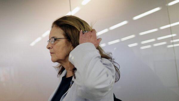 Graça Foster, presidenta de la petrolera Petrobras - Sputnik Mundo