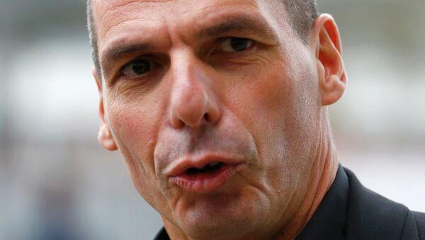 Yanis Varoufakis, ministro heleno de Finanzas - Sputnik Mundo
