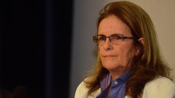 Graça Foster, presidenta de Petrobras - Sputnik Mundo