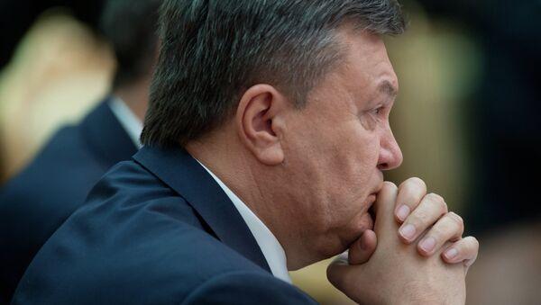 Víctor Yanukóvich, expresidente ucraniano (archivo) - Sputnik Mundo