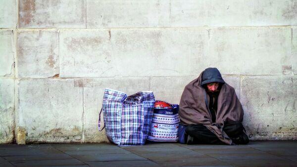 Se dispara el número de indigentes en Inglaterra - Sputnik Mundo