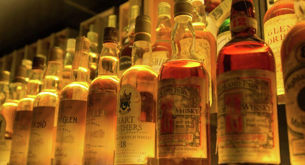 Colección de whisky escocés