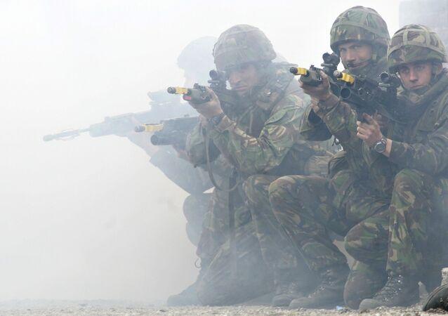 Marines britanicos (Archivo)