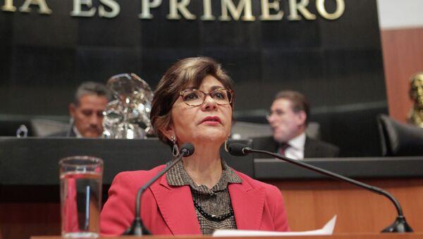 Angélica de la Peña, presidenta de la Comisión de Justicia del Senado - Sputnik Mundo