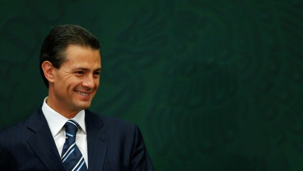 Enrique Peña Nieto, presidente de México (archivo) - Sputnik Mundo