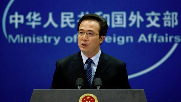 Hong Lei, ministerio de Exteriores de China - Sputnik Mundo