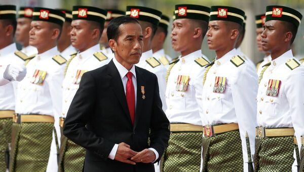 Joko Widodo, presidente de Indonesia - Sputnik Mundo
