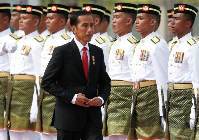 Joko Widodo, presidente de Indonesia