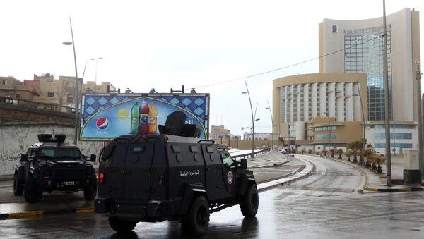 Libyan security forces - Sputnik Mundo