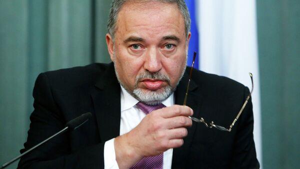 Avigdor Lieberman, ministro de Exteriores de Israel - Sputnik Mundo