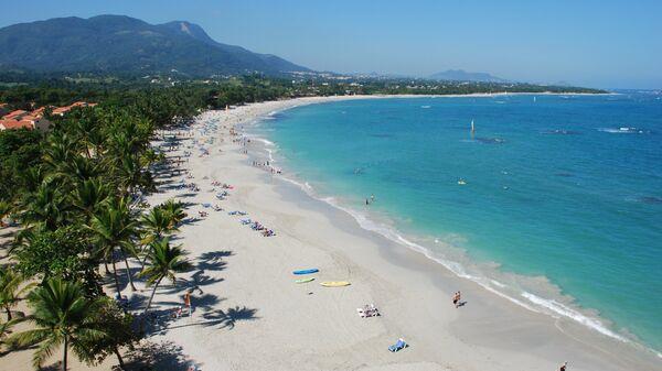 Playa en Puerto Plata, República Dominicana  - Sputnik Mundo