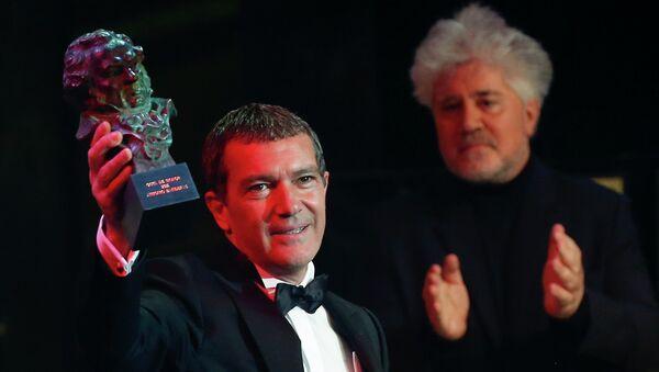 Antonio Banderas recibe El Goya de Honor - Sputnik Mundo