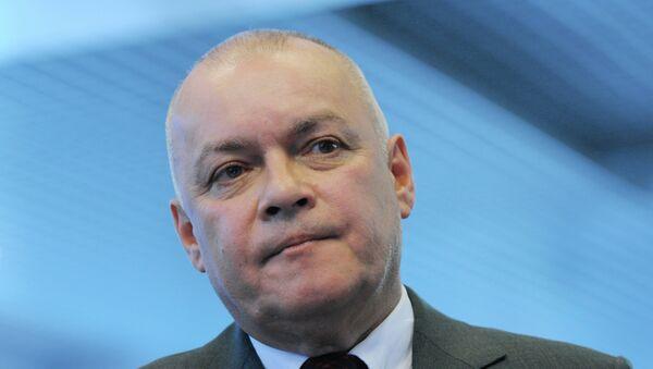 Dmitri Kiseliov, director general de la agencia  Rossiya Segodnya (RS) - Sputnik Mundo
