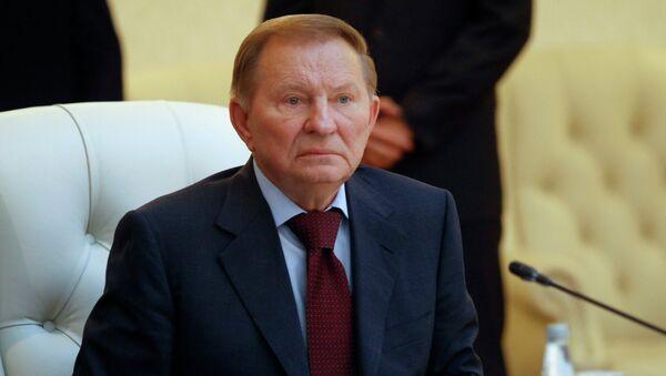 Leonid Kuchma, expresidente de Ucrania - Sputnik Mundo