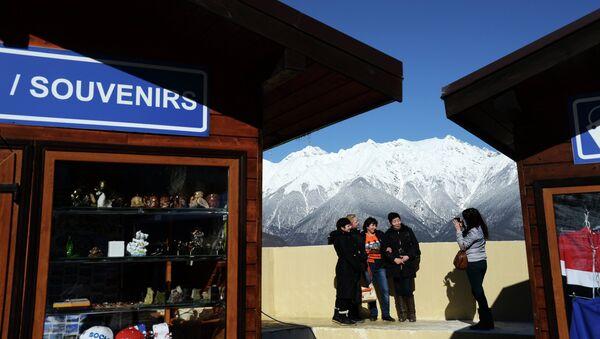 Turistas en Sochi - Sputnik Mundo