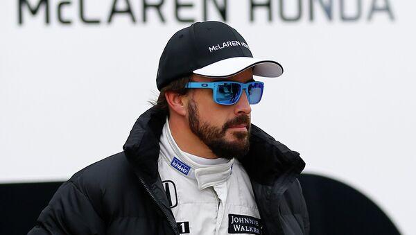 Fernando Alonso, piloto de Fórmula 1 - Sputnik Mundo
