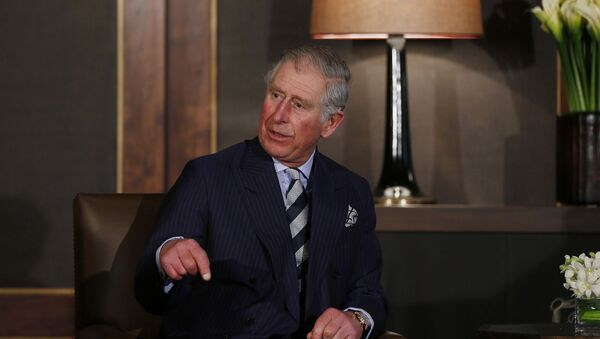 Britain's Prince Charles at the Royal Palace in Amman, February 8, 2015 - Sputnik Mundo