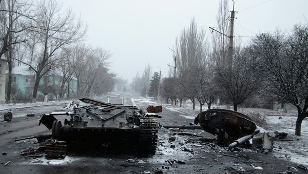 Situación en Uglegorsk - Sputnik Mundo