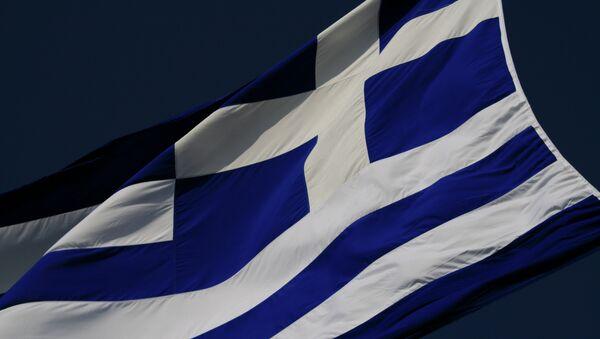 Bandera de Grecia - Sputnik Mundo