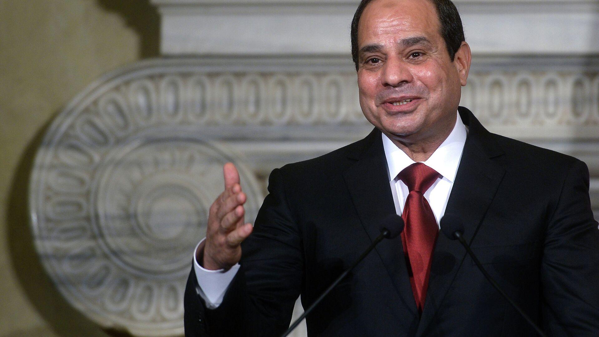 Egyptian President Abdel Fattah al-Sisi - Sputnik Mundo, 1920, 23.06.2021