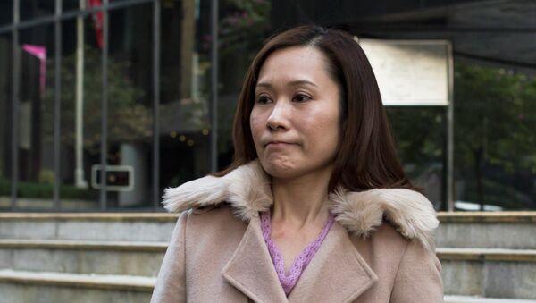 Law Wan-tung, former employer of Indonesian domestic helper Erwiana Sulistyaningsih in Hong Kong, January 8, 2015 - Sputnik Mundo