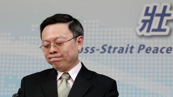 Wang Yu-chi, ministro de Taiwán de Asuntos con China - Sputnik Mundo