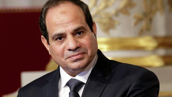 Egyptian President Abdel Fattah al-Sisi - Sputnik Mundo