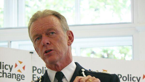 Bernard Hogan-Howe, jefe de la Policía Metropolitana de Londres (MET) - Sputnik Mundo