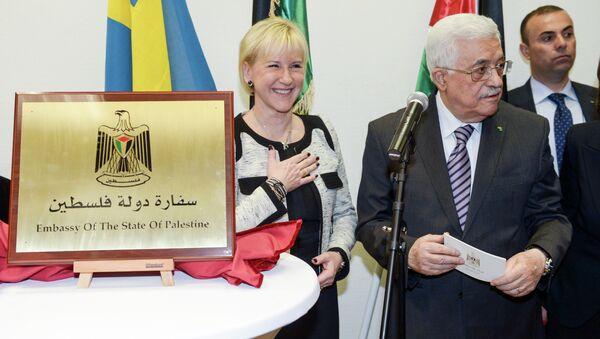 Palestina abre en Suecia su primera embajada en Europa Occidental - Sputnik Mundo