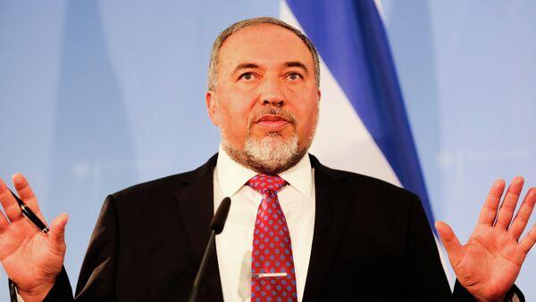 Avigdor Lieberman, líder del partido de ultraderecha Israel Nuestro Hogar (archivo) - Sputnik Mundo