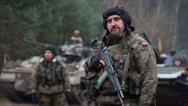 Soldados polonias - Sputnik Mundo