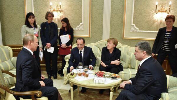 Normandy Format Meeting - Sputnik Mundo