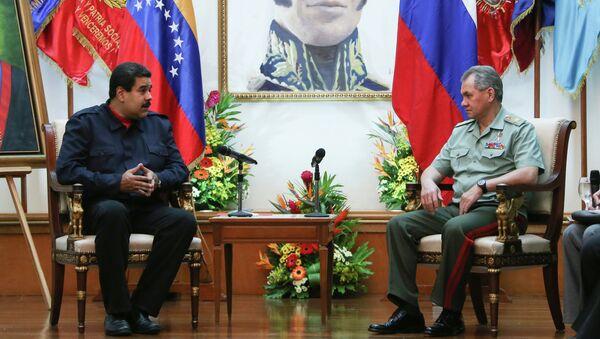 Официальный визит министра обороны РФ С.Шойгу в Венесуэлу - Sputnik Mundo