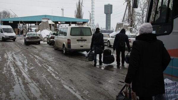 Ситуация на границе Украины с Россией - Sputnik Mundo