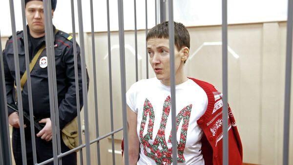Nadezhda Sávchenko, piloto ucraniana acusada de estar involucrada en la muerte de periodistas rusos - Sputnik Mundo