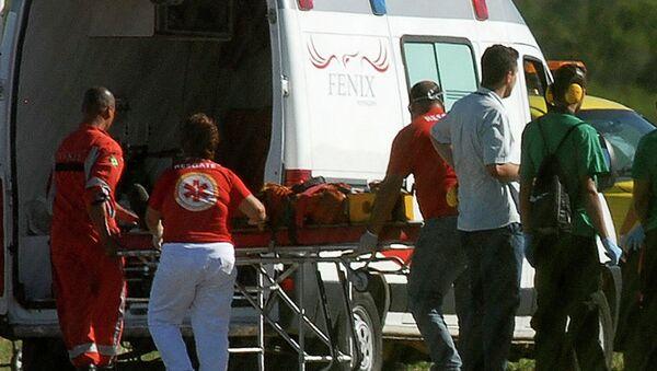 Heridos tras explosión en una plataforma flotante de Petrobras - Sputnik Mundo