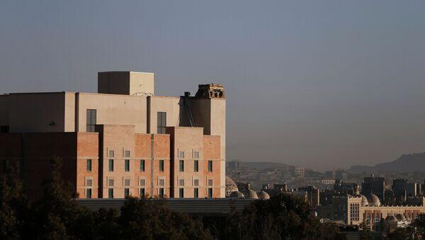 The U.S. embassy is seen in this general view taken in Sanaa - Sputnik Mundo