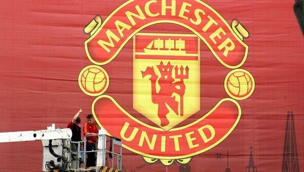 Manchester United Banner - Sputnik Mundo