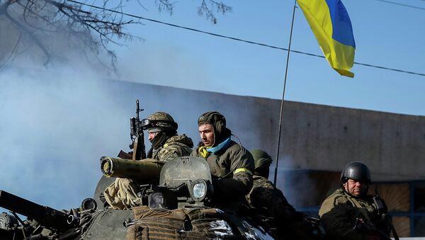 Militares ucranianos en Debáltsevo - Sputnik Mundo