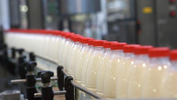 Fabricación de leche - Sputnik Mundo